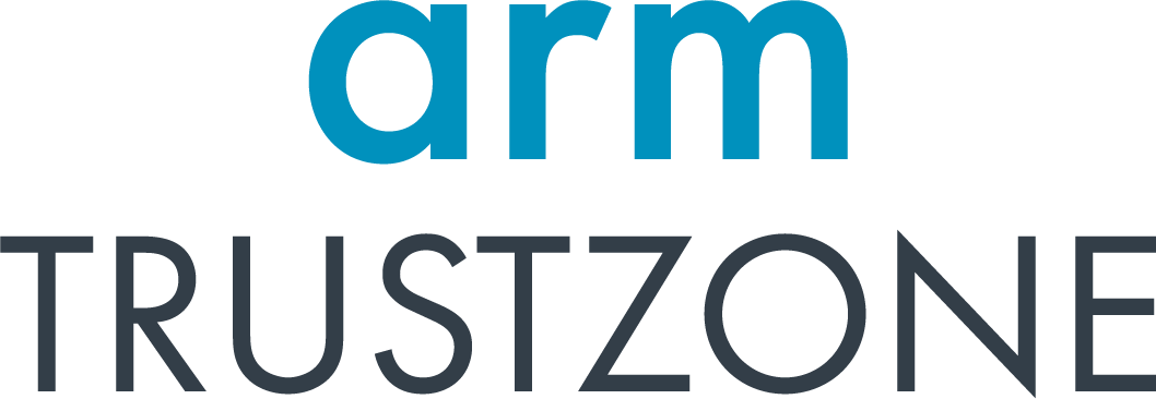 Text: arm TRUSTZONE (logo).