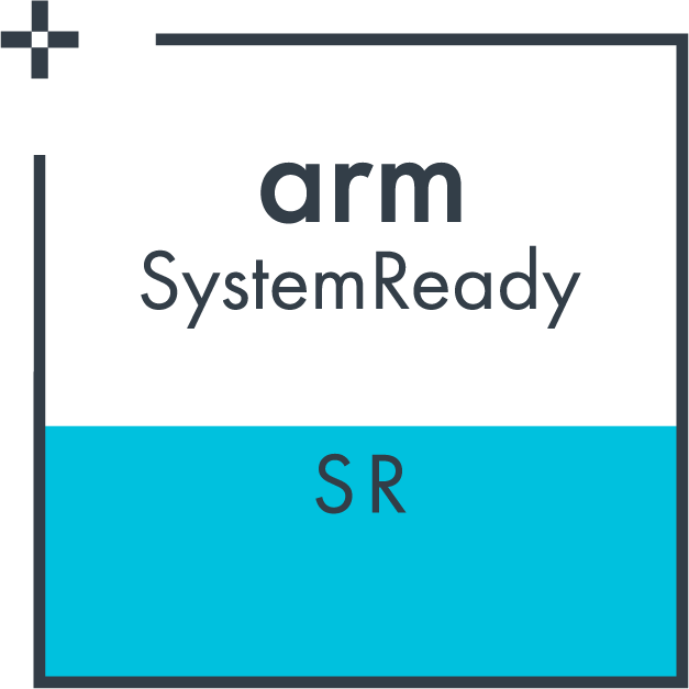 Arm SystemReady SR certified