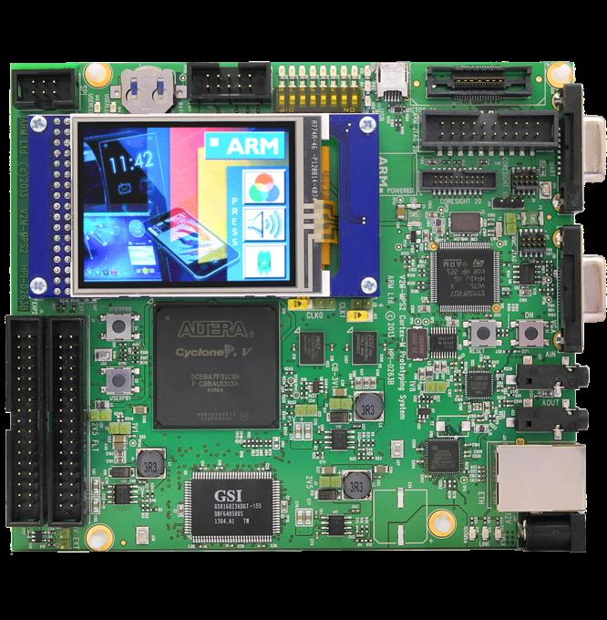 FPGA Prototyping Boards | Arm MPS2+ FPGA Prototyping Board