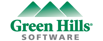 Green Hills Software (logo).