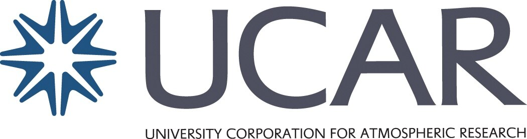 University Corporation for Atomspheric Research (UCAR logo).