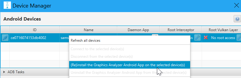 Arm Mobile Studio | Get Started with Graphics Analyzer – Arm