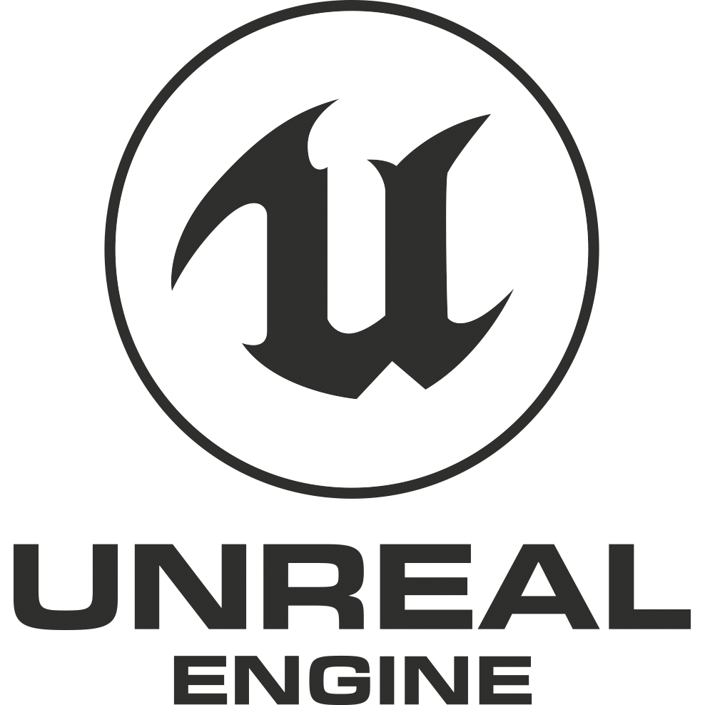 Unreal Engine Vertical Logo