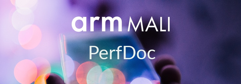 Text: arm Mali, PerfDoc.