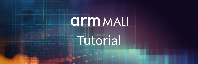 Text: Arm Mali Tutorial.