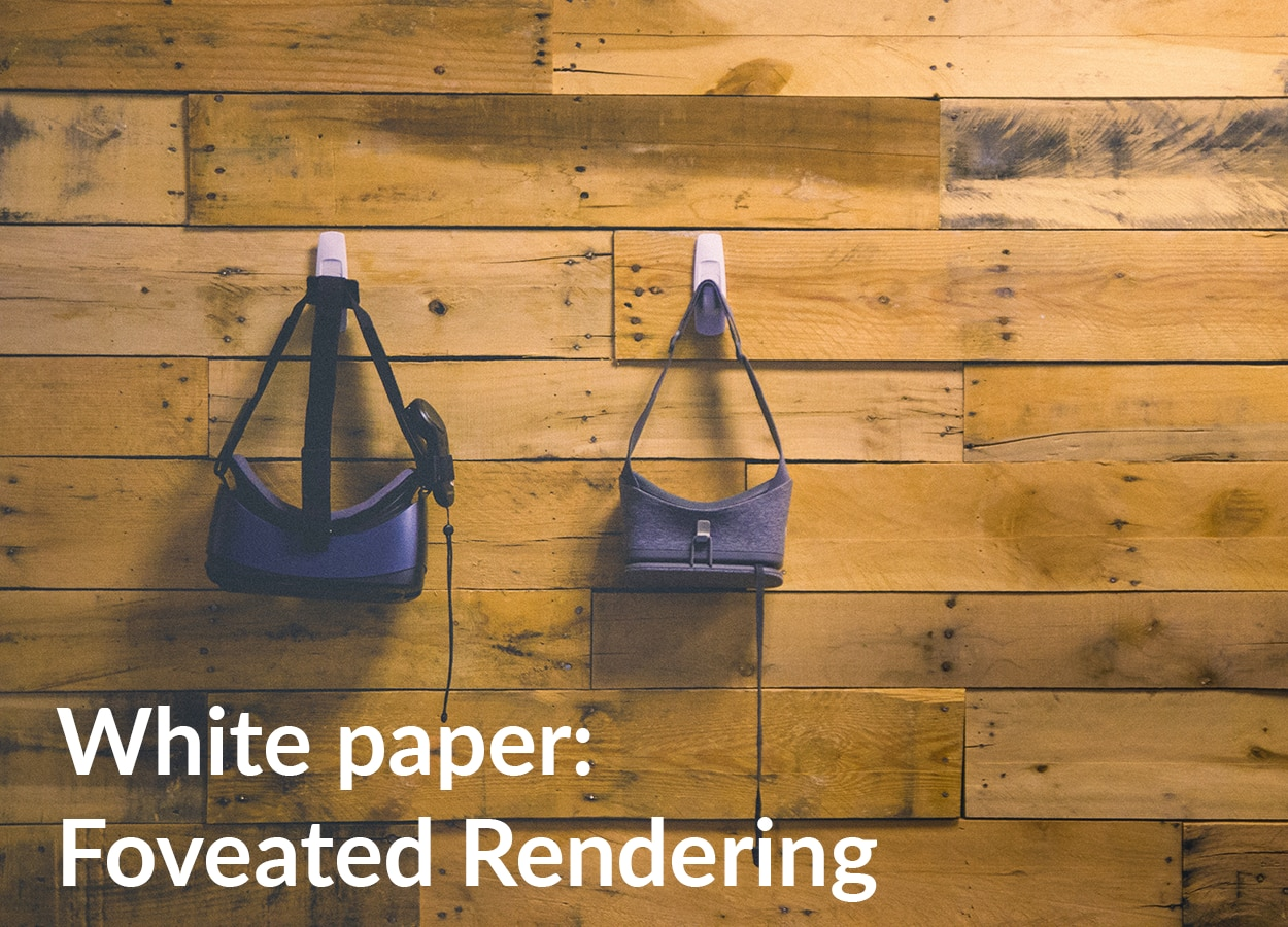Foveated Rendering White Paper download page