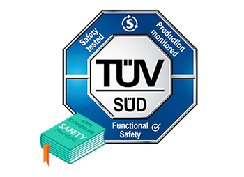 Safety manual and TUV certificate.