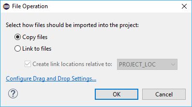 File Operation dialog