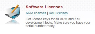 Silver Software Licences Area
