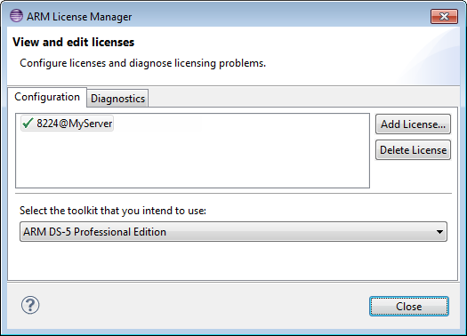 View Installed License and Toolkit